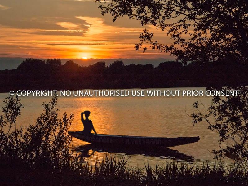 CALDECOTE SUNSET by Ian Jackson.jpg