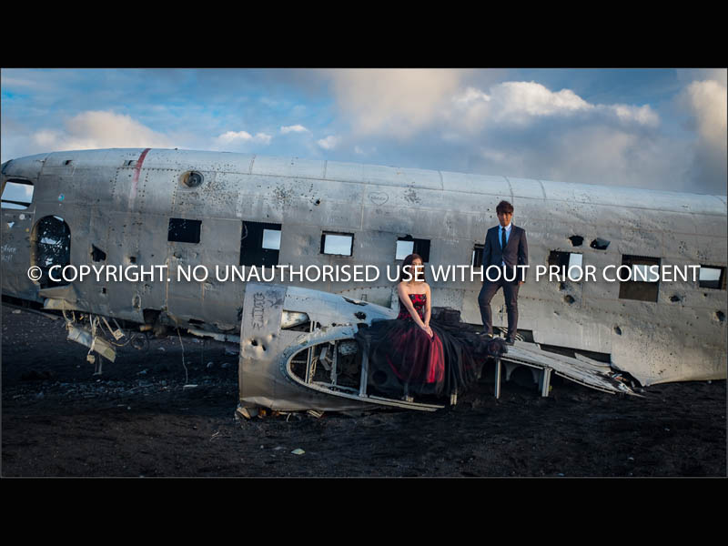 PLANE WRECK ENGAGEMENT SHOOT by Dave Cromack.jpg