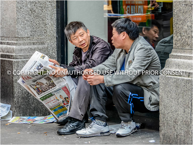 SATURDAY MORNING IN CHINATOWN by Ian Ashley.jpg