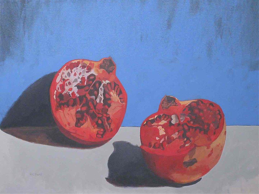Cut Pomegranate