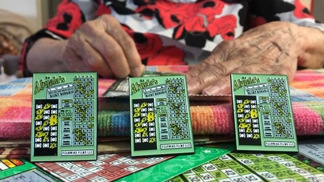 It's Sunday! Get abuela some scratch offs! **LINK IN BIO** for the scratch off inspired Abuela's Luck lapel pins!! • • #abuelasluck #lapelpins #shortfilm #shortfilms #filmmaking #moviemaking #merchandise #shortfilm #merchandising #film #abuela #dominicansinfilm #dominicansinhollywood #latinos #theculture #bingitos #scratchoffs #lottery #latinosinfilm #latinx #latinxinfilm