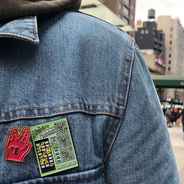 Limited edition Abuela's Luck pins on sale!! ⚡️LINK IN BIO⚡️ • • Pin designed by @mrdavidruano • • #abuelasluck #shortfilm #merch #pins #lapelpins #fashion #filmmaking #movie #merchandising #merchandise #bingitos #scratchoffs #shopping #online #bigcartel