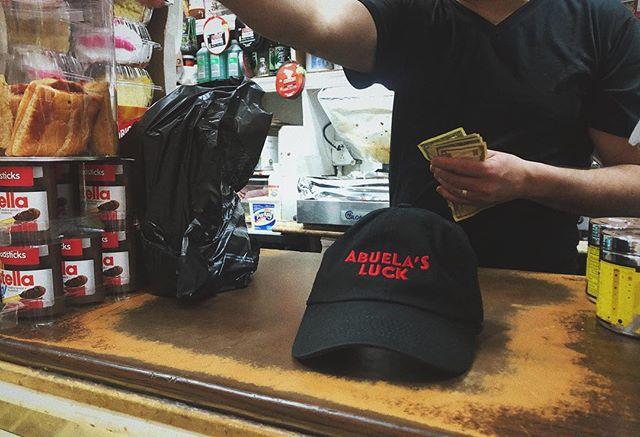 Limited edition Abuela's Luck Dad Hats officially available!! ⚡️LINK IN BIO⚡️ • • Hat designed by @mrdavidruano • • #abuelasluck #shortfilm #merch #dadhats #dadhat #fashion #filmmaking #movie #merchandising #merchandise #bingitos #scratchoffs #shopping #online #bigcartel