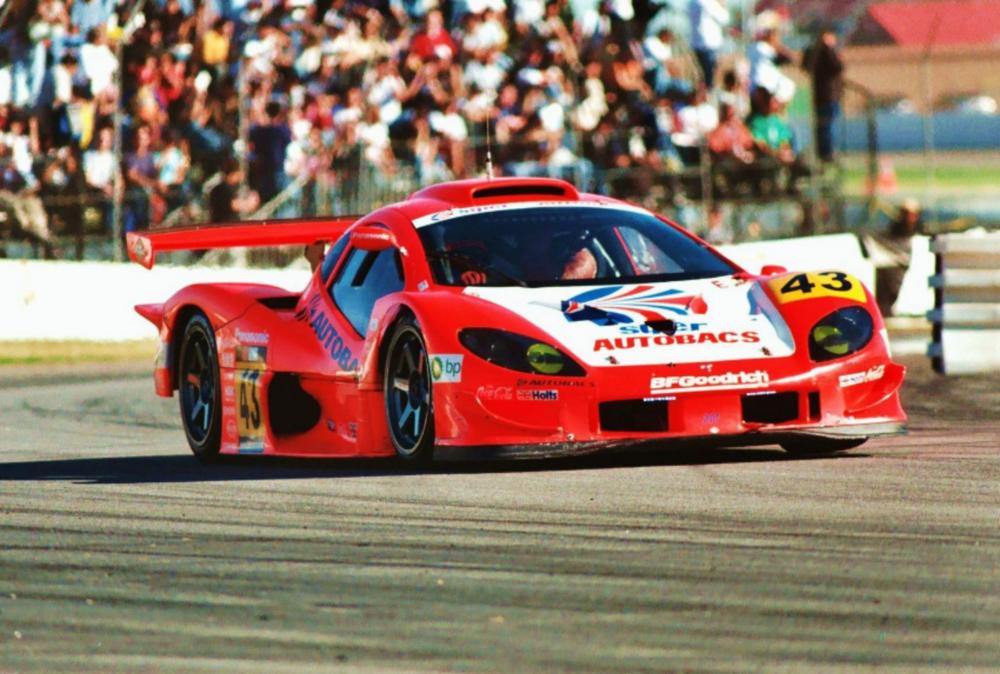 Team Autobacs Gairaya, GT300 California Speedway. Fontana, CA 2004