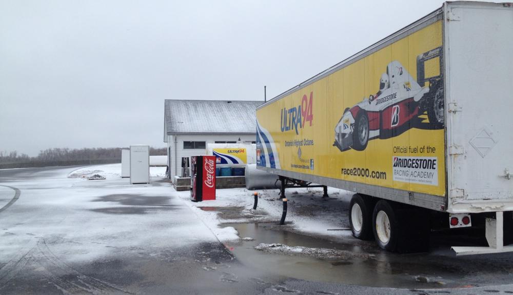 Bridgestone Racing Academy Bowmanville, Ontario Apr 2014