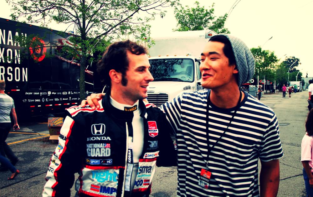 Luca Filippi / ex-F1 test driver, current IndyCar driver Honda Indy of Toronto, Jul 2014