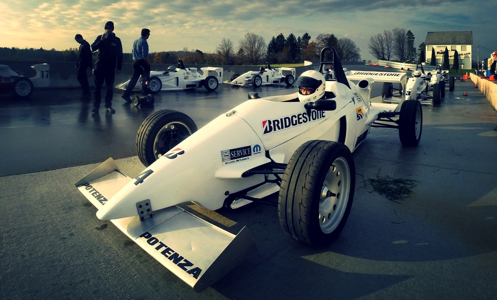 Reynard F2000 - DDT at Canadian Tire Motorsport Park Oct 2014