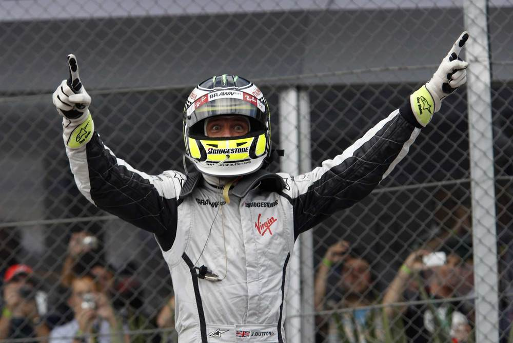 Jenson Button, 2009 F1 World Champion   photo: unknown