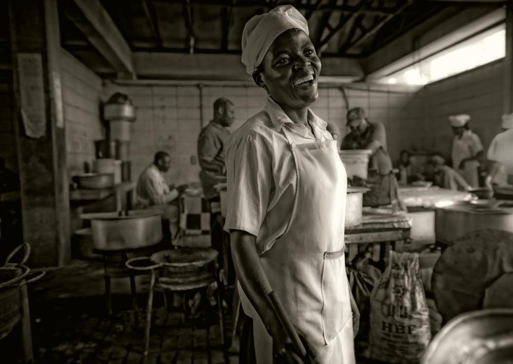 cook, Dar Es Salaam, Tanzania