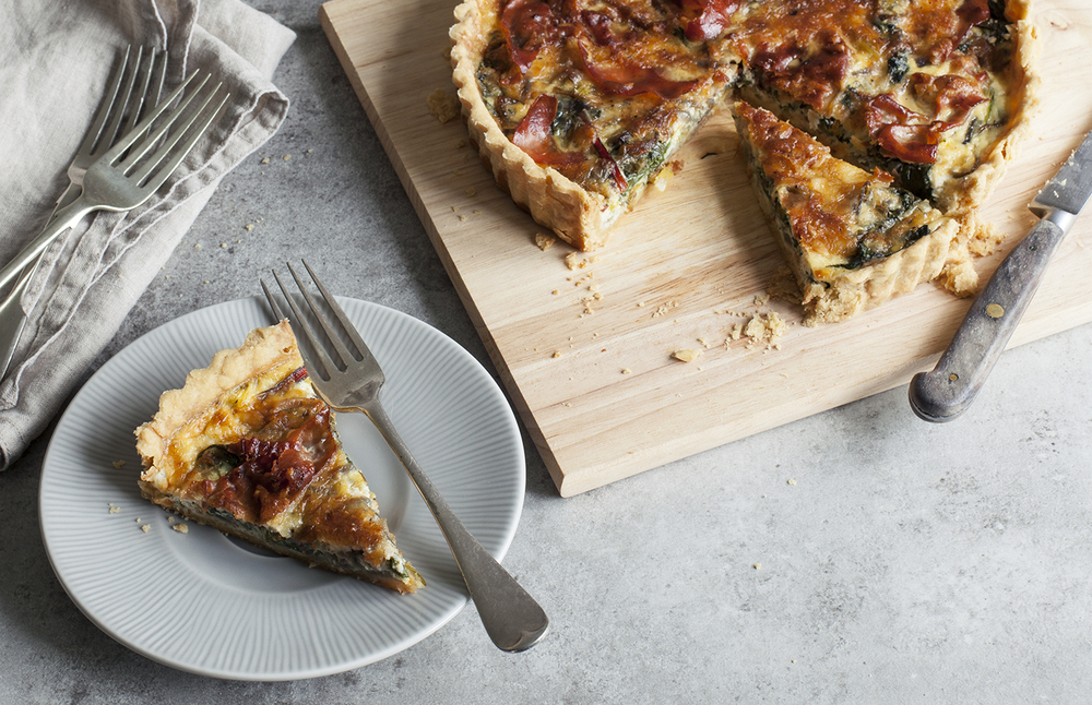 Swiss Chard, Goat Cheese And Prosciutto Tart Recipes — Dishmaps
