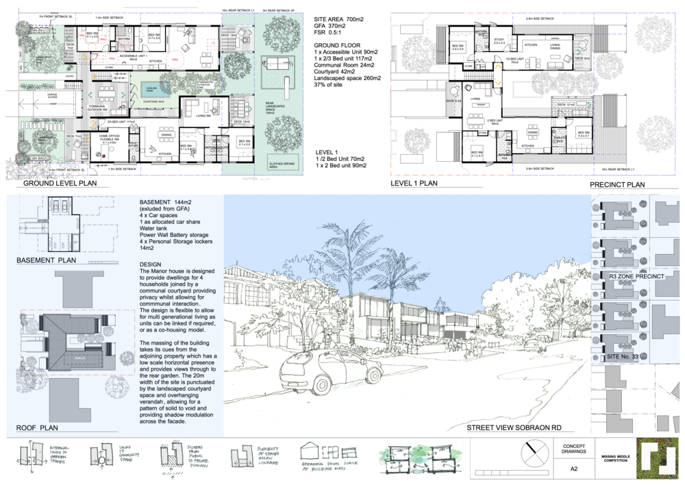 Concept Plans by Still Space Architecture