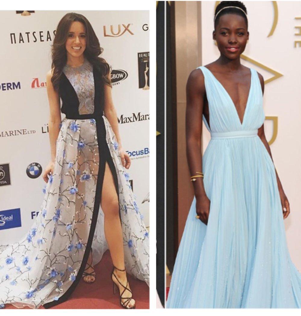Oscar Winner: Lupita Nyong'o - #getmylookDress:Dimitris PetrouShoes: Steve MaddenInspired by: Oscar winner - Lupita Nyong'o