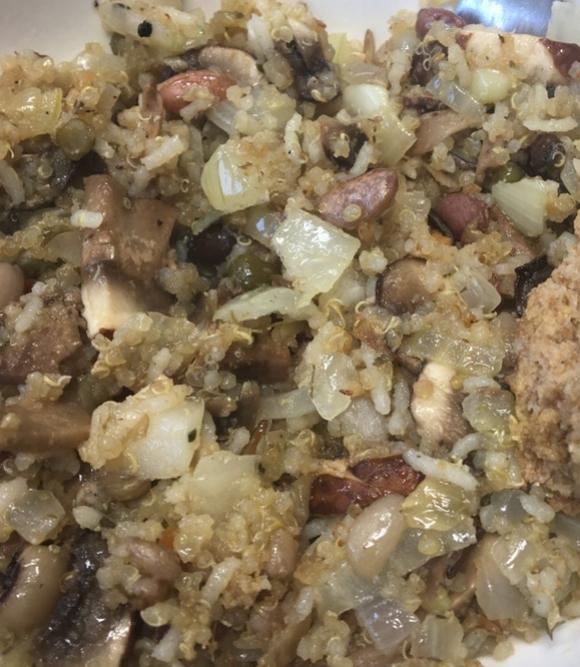 Quinoa & Rice -