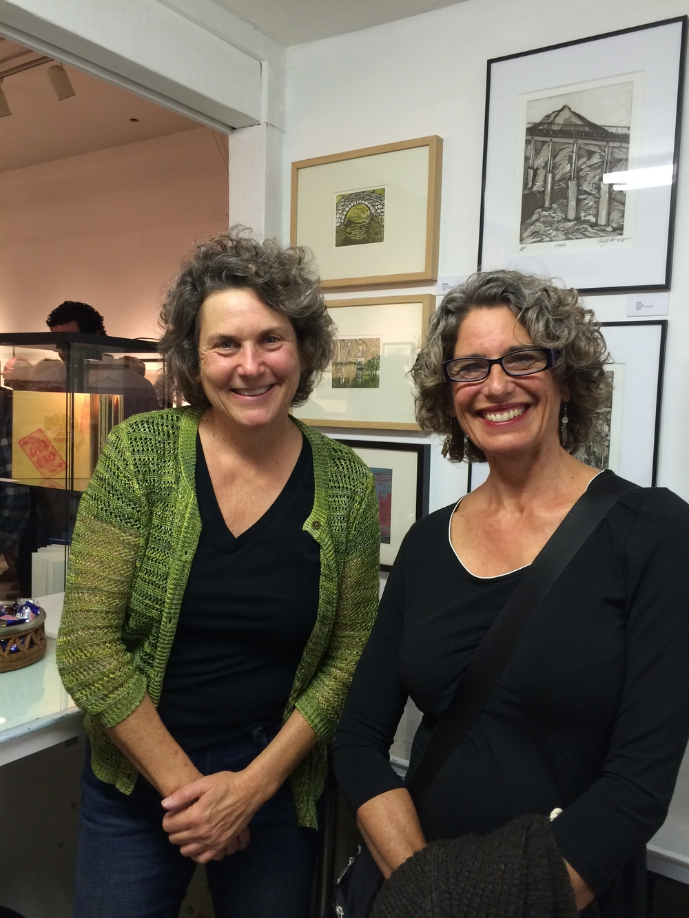 BPP member Carolyn La France & Cate Bell