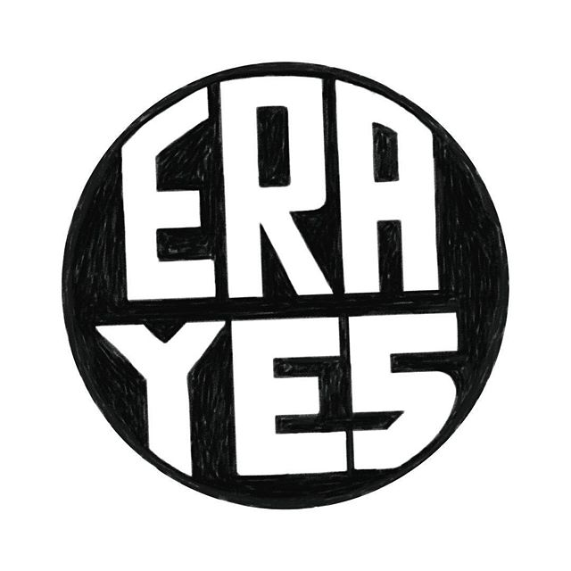 A cool thing from last night's #SOTU is the original #erayes pin (designed in the 70s) sported by many of the congresswomen. This action is a call to pass and ratify the Equal Rights Amendment to the US constitution. It was proposed in 1923 and 1972 which would provide legal equality for men and women. It was passed in '72 but was never ratified. We are still waiting on ratification from a dozen more states (mostly in the southeast region). #womensmarch #womensrights #womensequality #typography