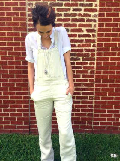 You can shop my look! These Pilcro Overalls are an Anthropologie find. Click here to purchase your own!