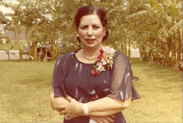 My awesome grandma, Dominga.