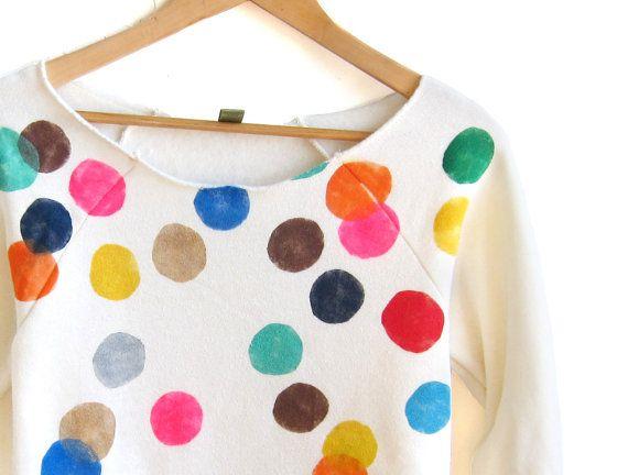 Etsy Confetti Sweatshirt