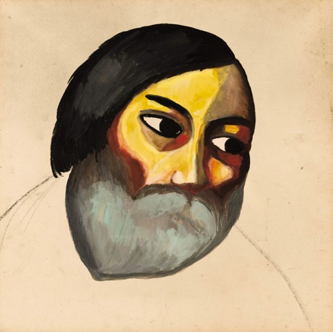 Head of a Peasant, Kazimir Malevich, www.russianartandculture.com