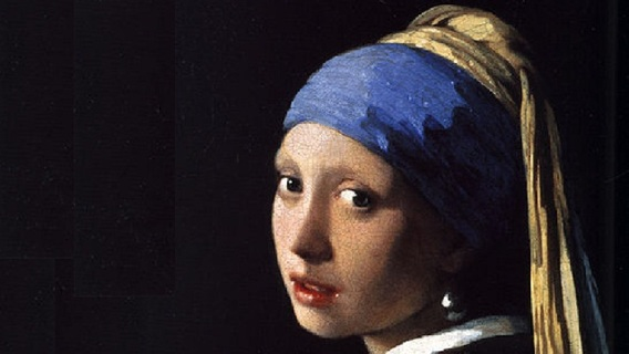 Johannes Vermeer, Girl with the Pearl Earring, 1665