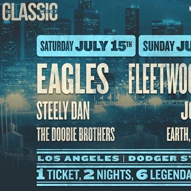 The Eagles - The Classic West at Dodger Stadium