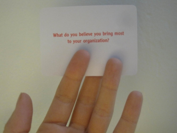 do lead leadership card