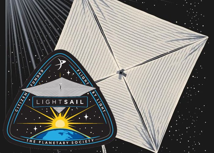 Kites were the best Carl Sagan could come up with when pondering how to explore space.