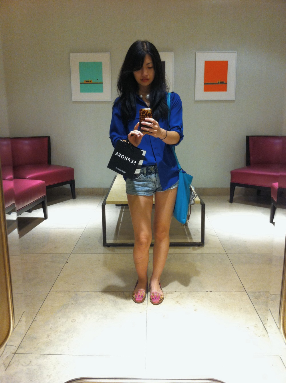 The Neiman Marcus restroom is the most amazing.