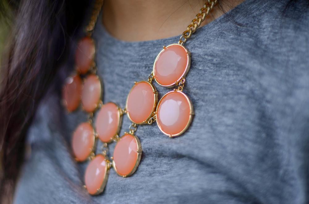 BP-Peach-Coral-Circle-Stone-Necklace