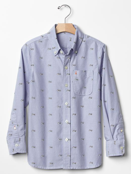 JACK SPADE ♥ GapKids googly eyes oxford shirt