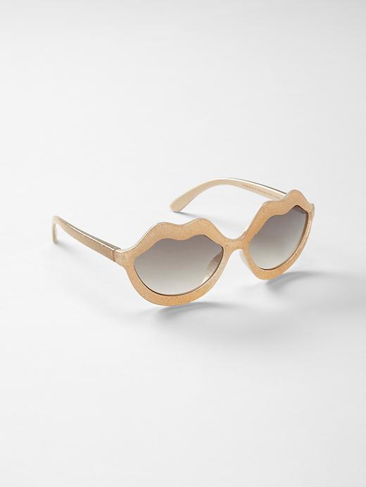 Kate Spade New York ♥ GapKids lip sunglasses