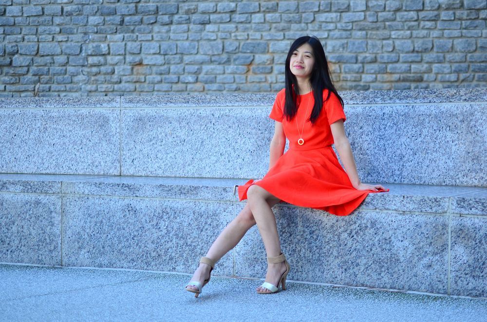 Blood Orange ASOS dress