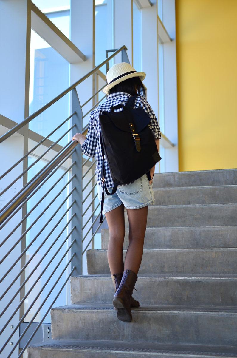 So Worth Loving The Traveler backpack