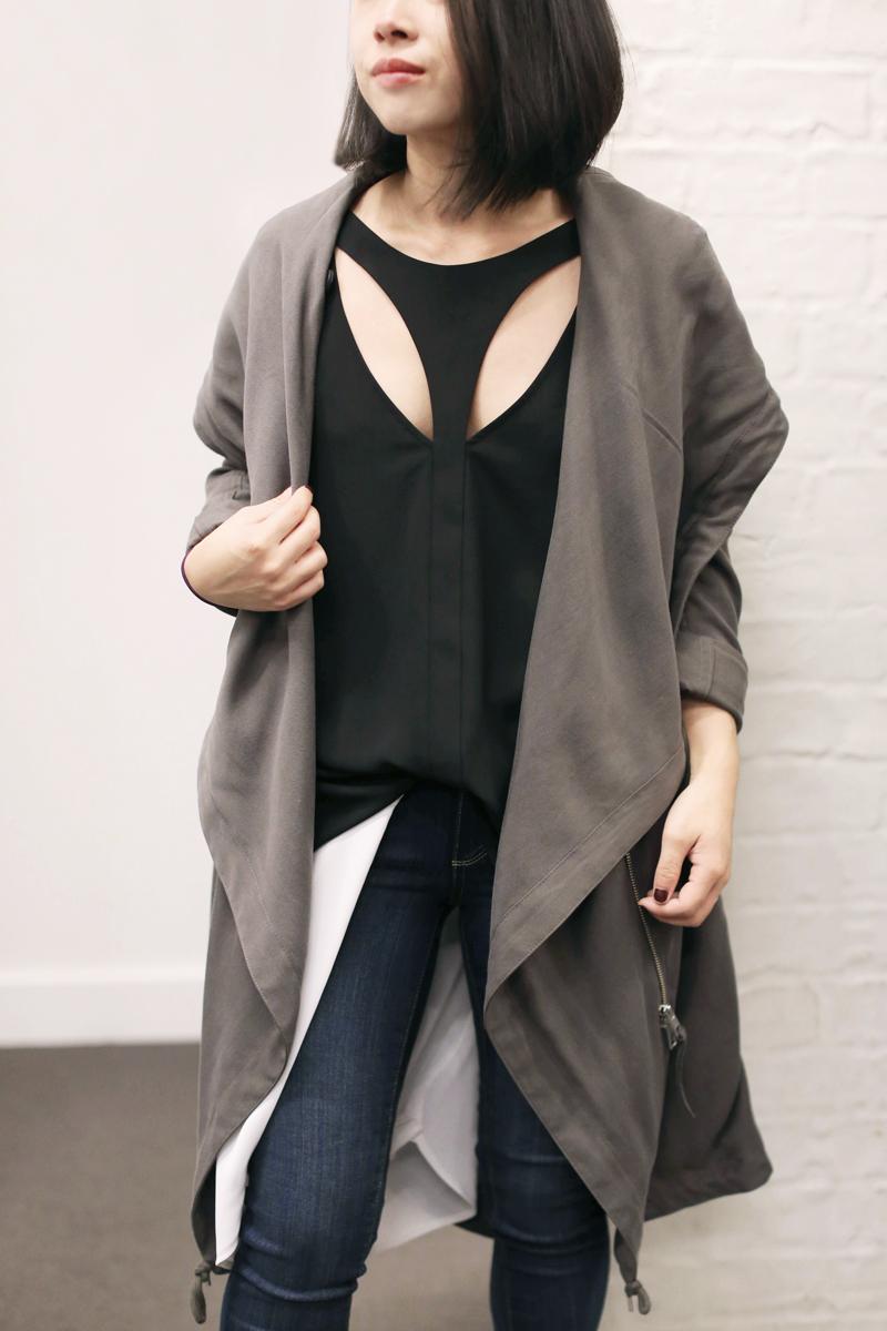 Ally in Paige Denim x Bloomingdale's