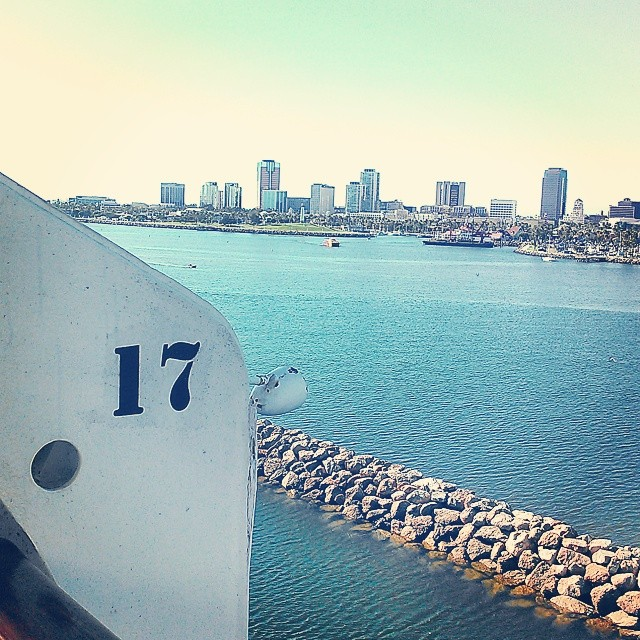 #downtown #longbeach via #thequeenmary