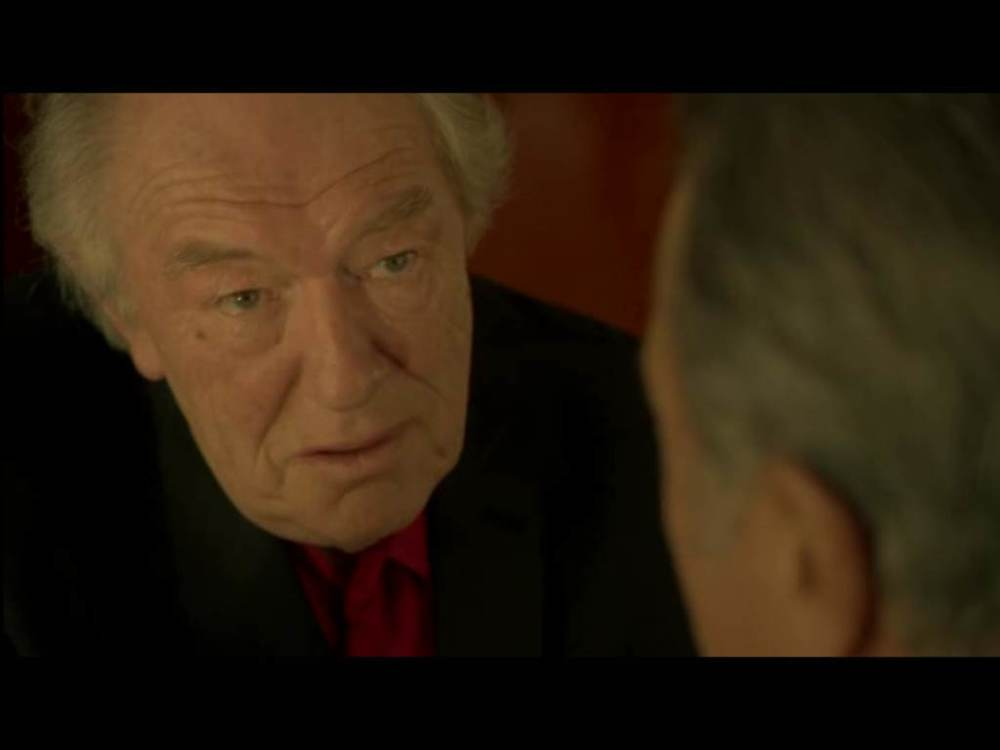 Gambon relishing bad guy role