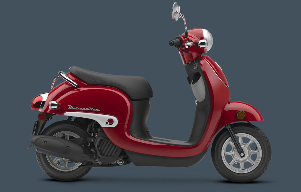 Honda Metropolitan in Red