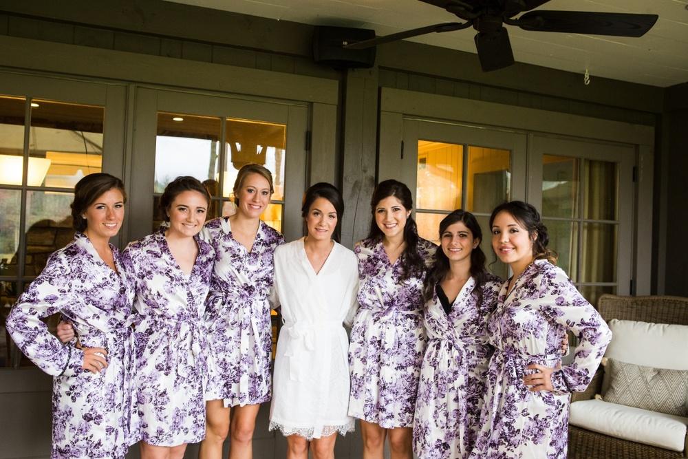 Bride & Bridesmaids, Cashiers Wedding Photographer