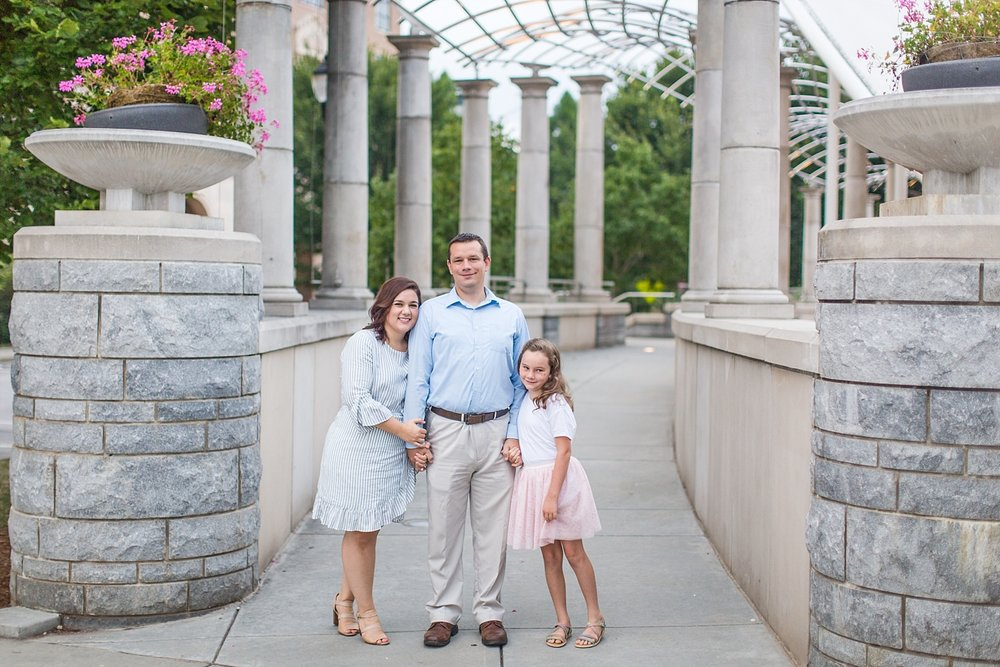 family portraits in downtown asheville