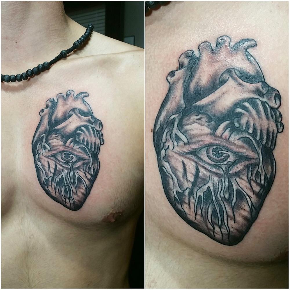 Black & Grey — Monster Ink.