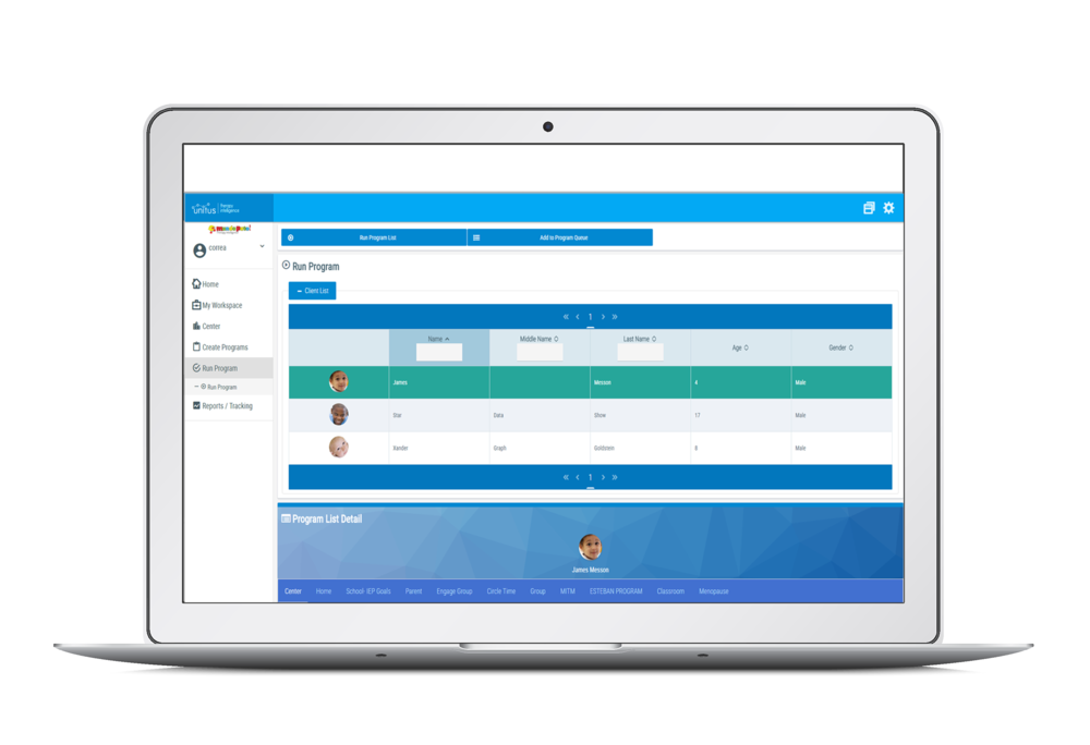 Subscribe to UnitusTI, receive personalized training, log in, load student and school data and begin working. Take data through any device or computer and share student progress instantly with HIPAA/Ferpa friendly security.