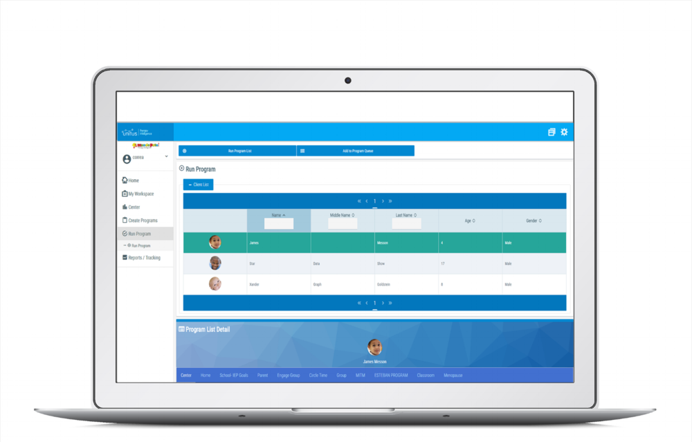 Subscribe to UnitusTI, log in, load client data and begin working. Take data through any device or computer and share clients progress instantly with HIPAA/Ferpa friendly security.