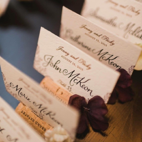 Weddings and Events - Available for Invitations, envelope addressing, signage, decor, and more! (More samples coming soon)