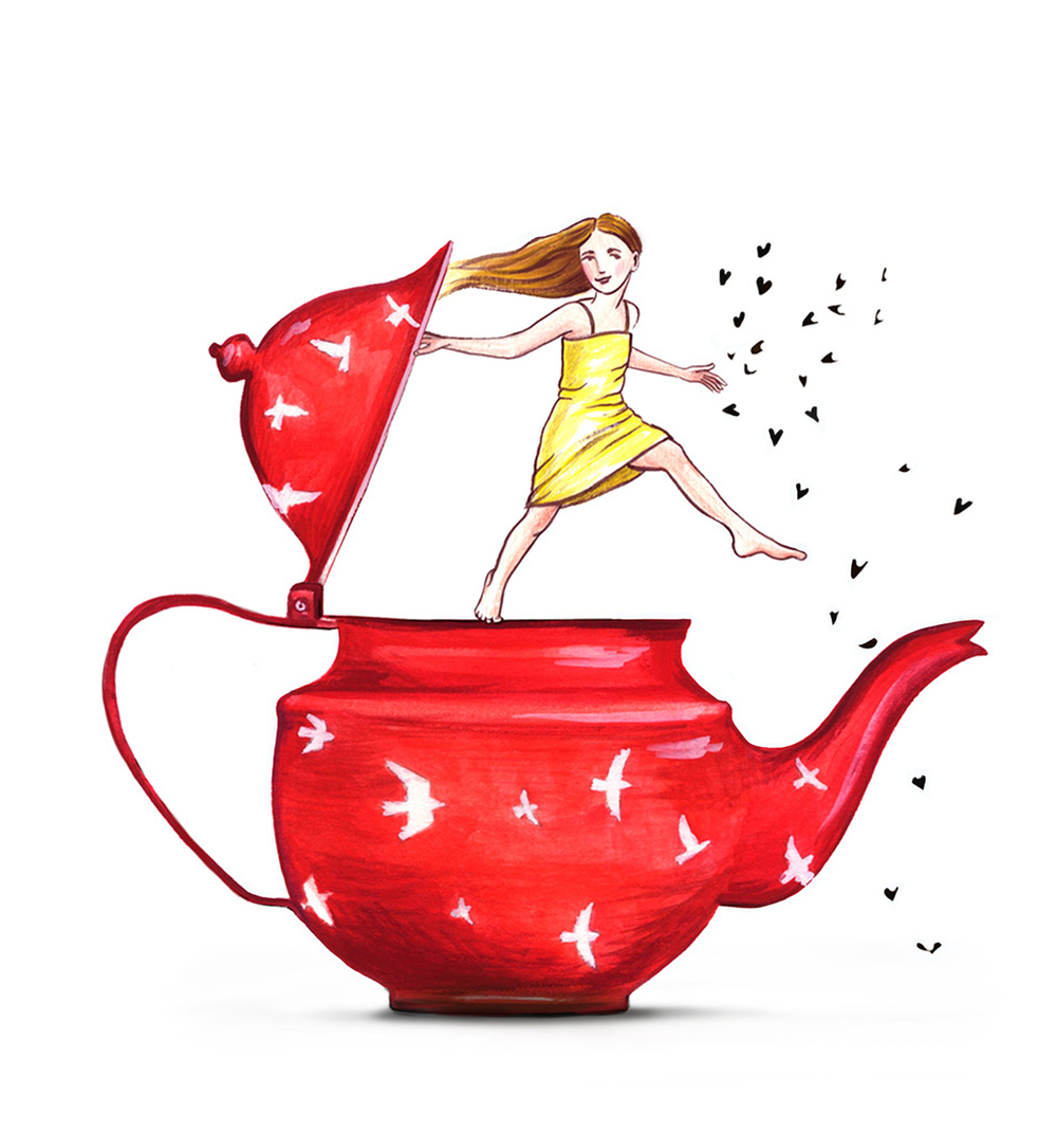 Teapot Girl
