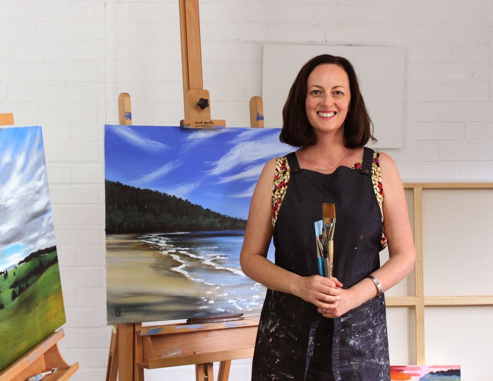 Welcome to my studio! - Rosalie Street is an Australian artist and illustrator with a love for painting landscapes, pet portraits and illustrating children's picture books.Her days are spent painting, drawing and writing stories from her home studio on the Mornington Peninsula.