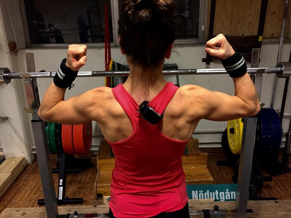 Lise är ALLTID välförbered , tränad och fokuserad.