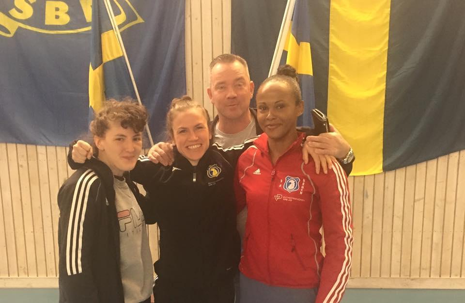 SM 2015 Kanon gäng ! Mia Bromander 57 kg, Lise Sandebjer 48-51 kg och Fadma Ali 57 kg