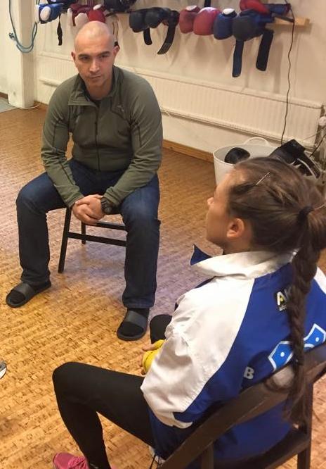 Mentala coach Igor Adoris har besökt oss flera gången och delat med sig av sina kunskap och filosofi. Att våga förlora, att vilja vinna men inte vara rädd att förlora. Tack Igor !