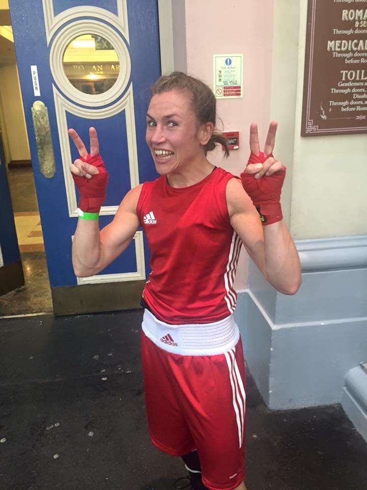 Lise boxade stabilt och vann med sina explosiva direktkontringarna med domarsiffror 3-0.