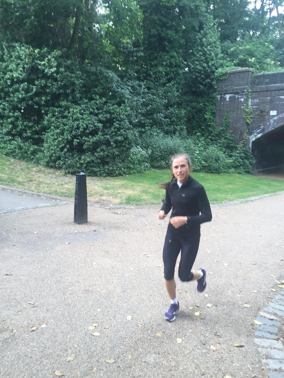 Lise mitti sitt återhämtnings jogg 60-65 % Max